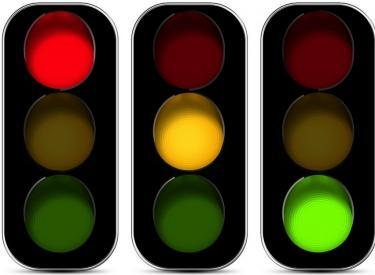 交通灯 交通信号灯 设计 矢量 矢量图 素材 信号灯 375_275